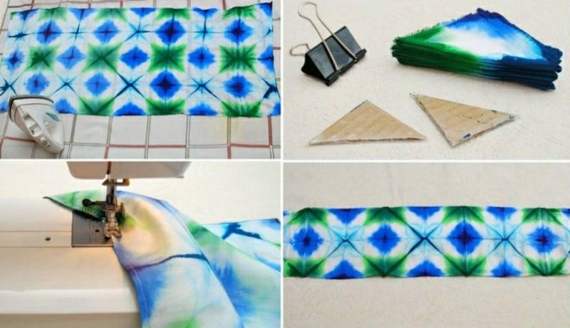 Batik komplizierte Muster gestalten