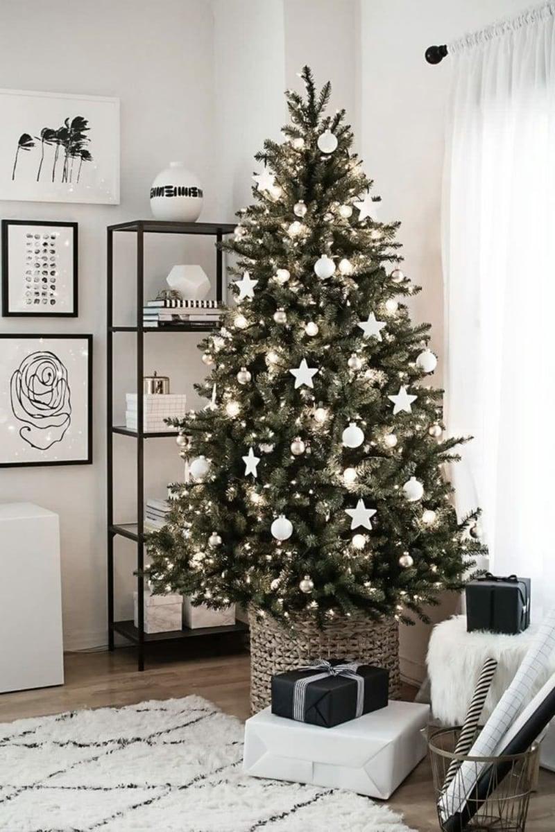 Weihnachtsbaum dekorieren moderne Ideen 2019