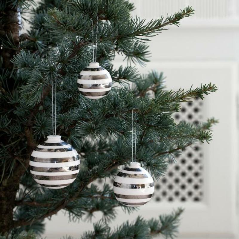 Weihnachten Trends 2019 moderner Christbaumschmuck