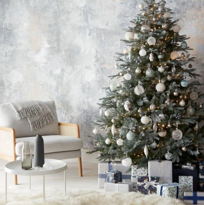 Weihnachtsbaum dekorieren Trends 2019