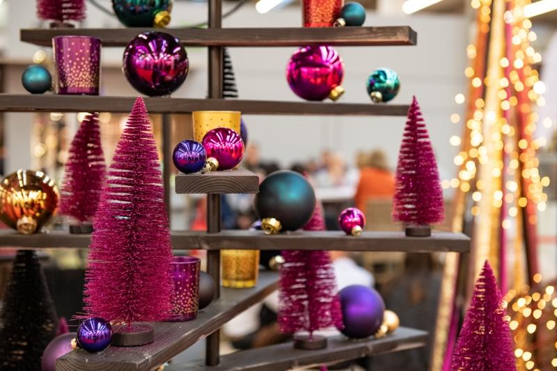 trendige Farben Weihnachten