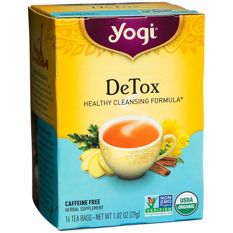 Tee zum Detoxen