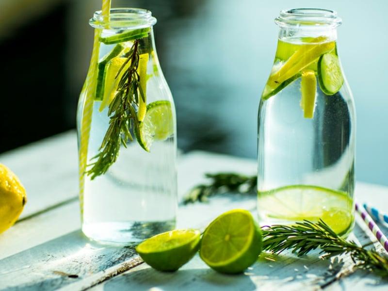 Detox Kur 7 Tage Detox Wasser trinken