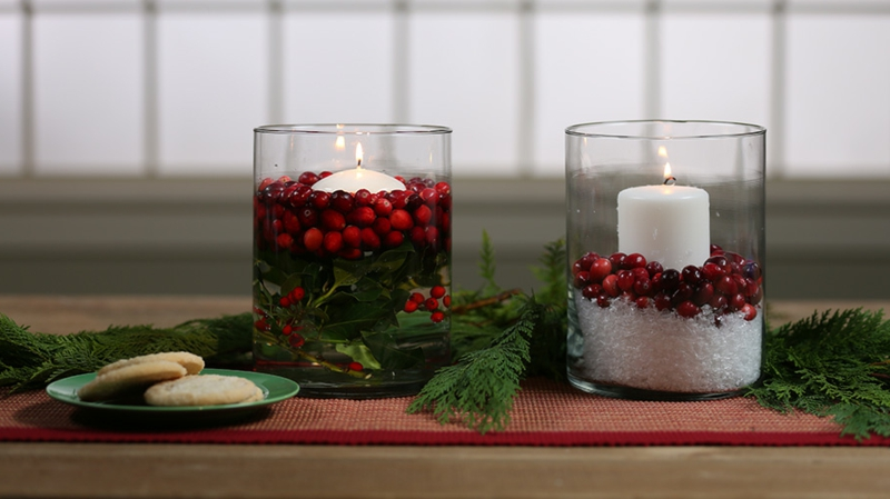 Teelichter zu Weihnachten