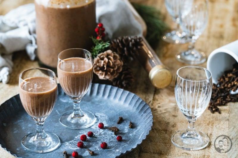 Eierlikör Rezept mit Schokolade