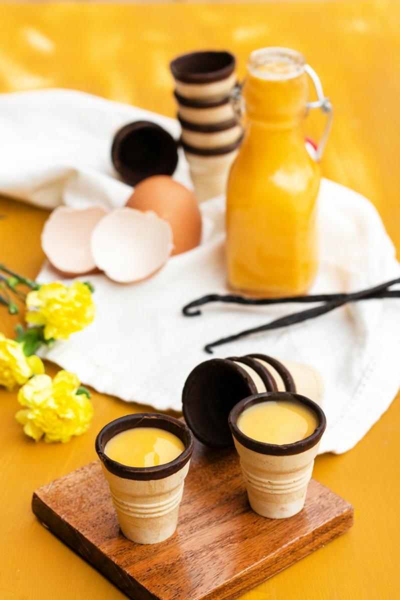 Eierlikör triken Ostern und Frühling