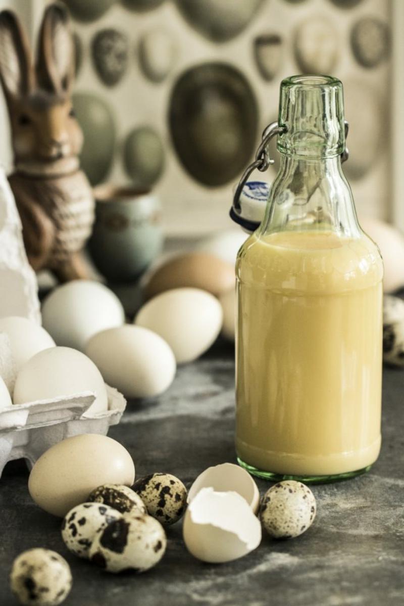 Eierlikör Rezept traditionell ganz schnell und leicht