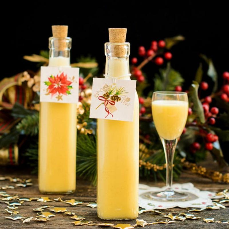 Eierlikör Rezept tolles Geschenk Weihnachten