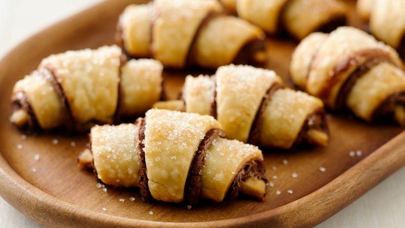 Nutella selber machen Gebäck zubereiten