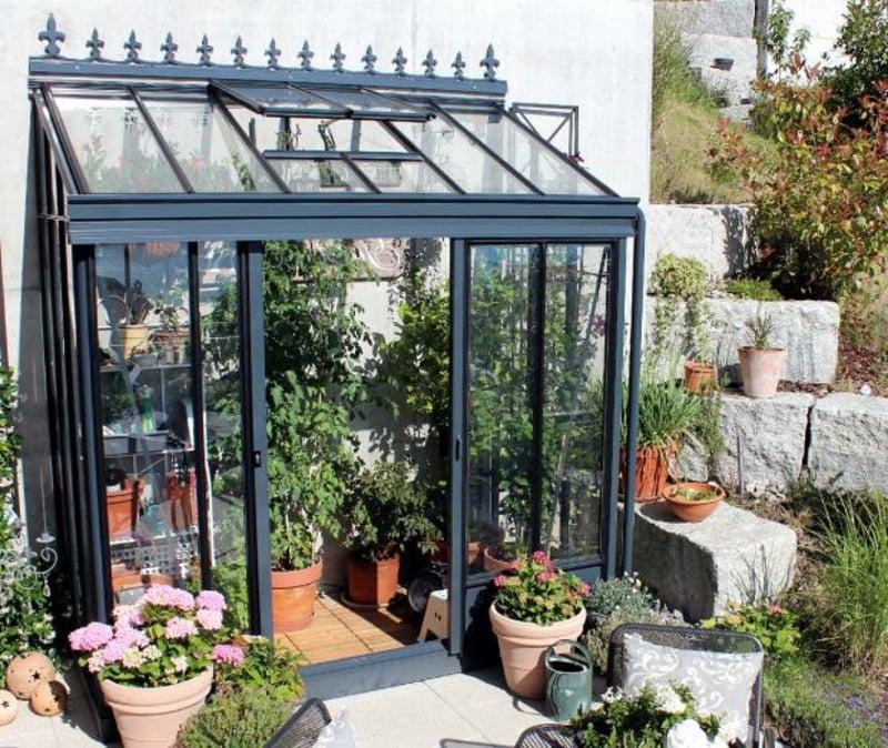 Gewächshaus für Blumen Obst oder Gemüse
