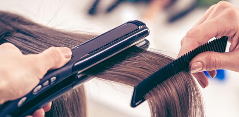 Haarglätter richtig verwenden