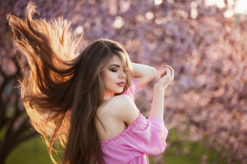 ideal glatte Haare ohne Hitze