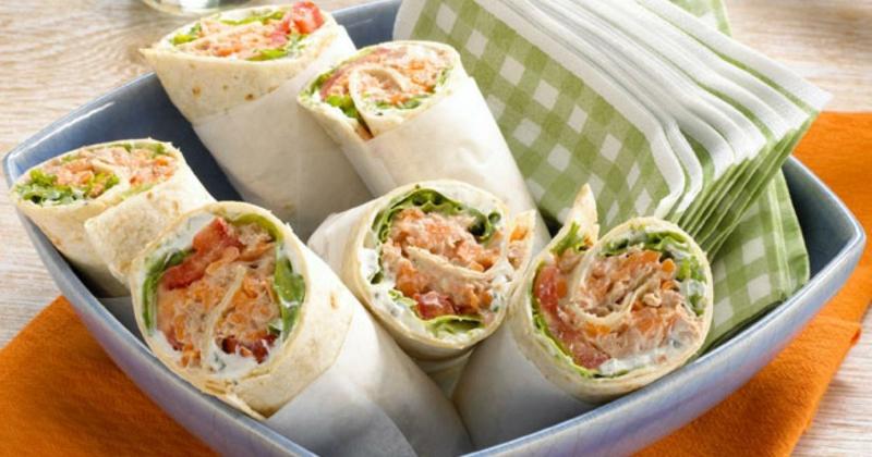 Thunfisch Rezepte leckere Wraps
