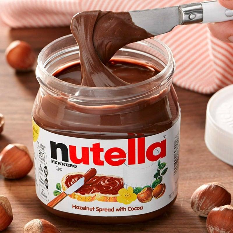 Nutella reich an Zucker und Fett