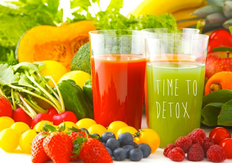 Detox Kur 7 Tage frisch ausgepresste Säfte