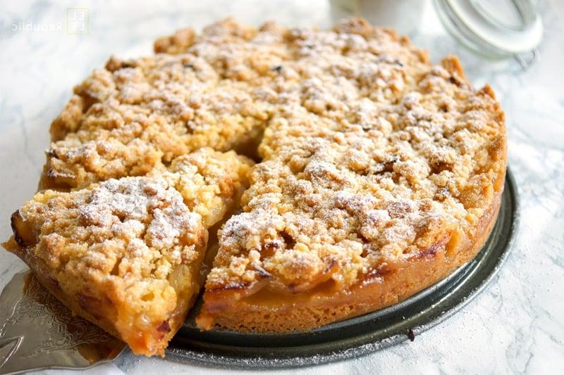 veganer Apfelkuchen leckeres Rezept