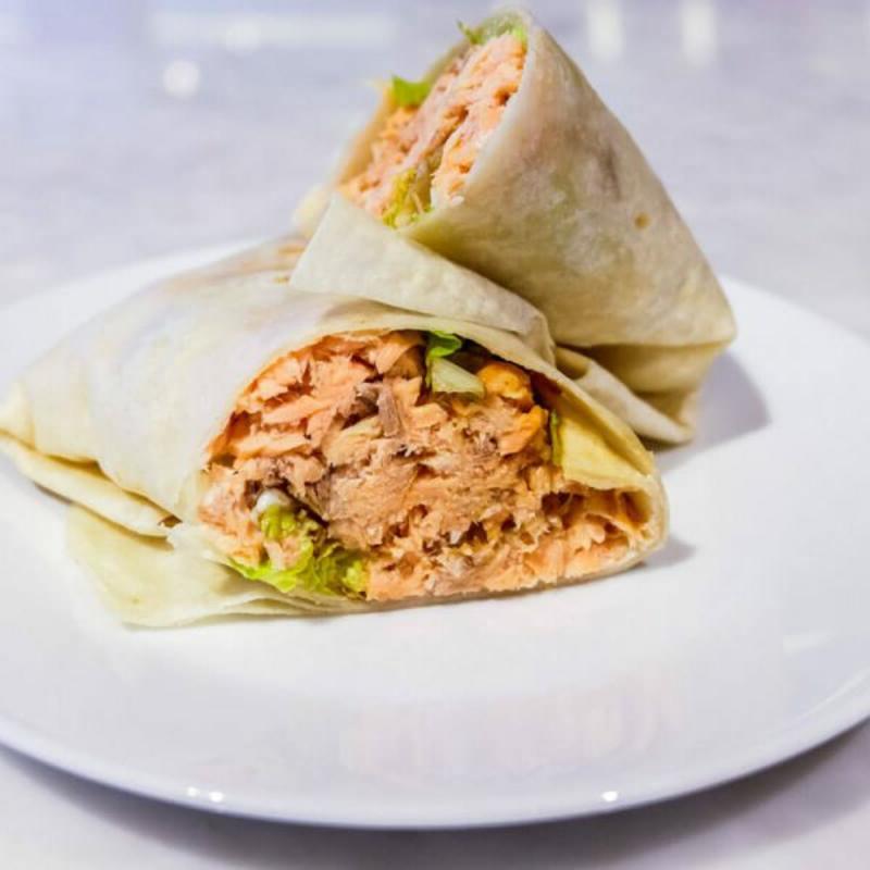 Thunfisch Rezepte Wraps selber machen