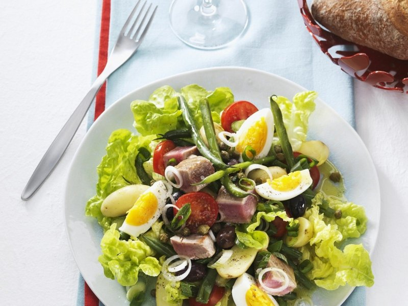 gesunde Rezeptideen leckere Salate