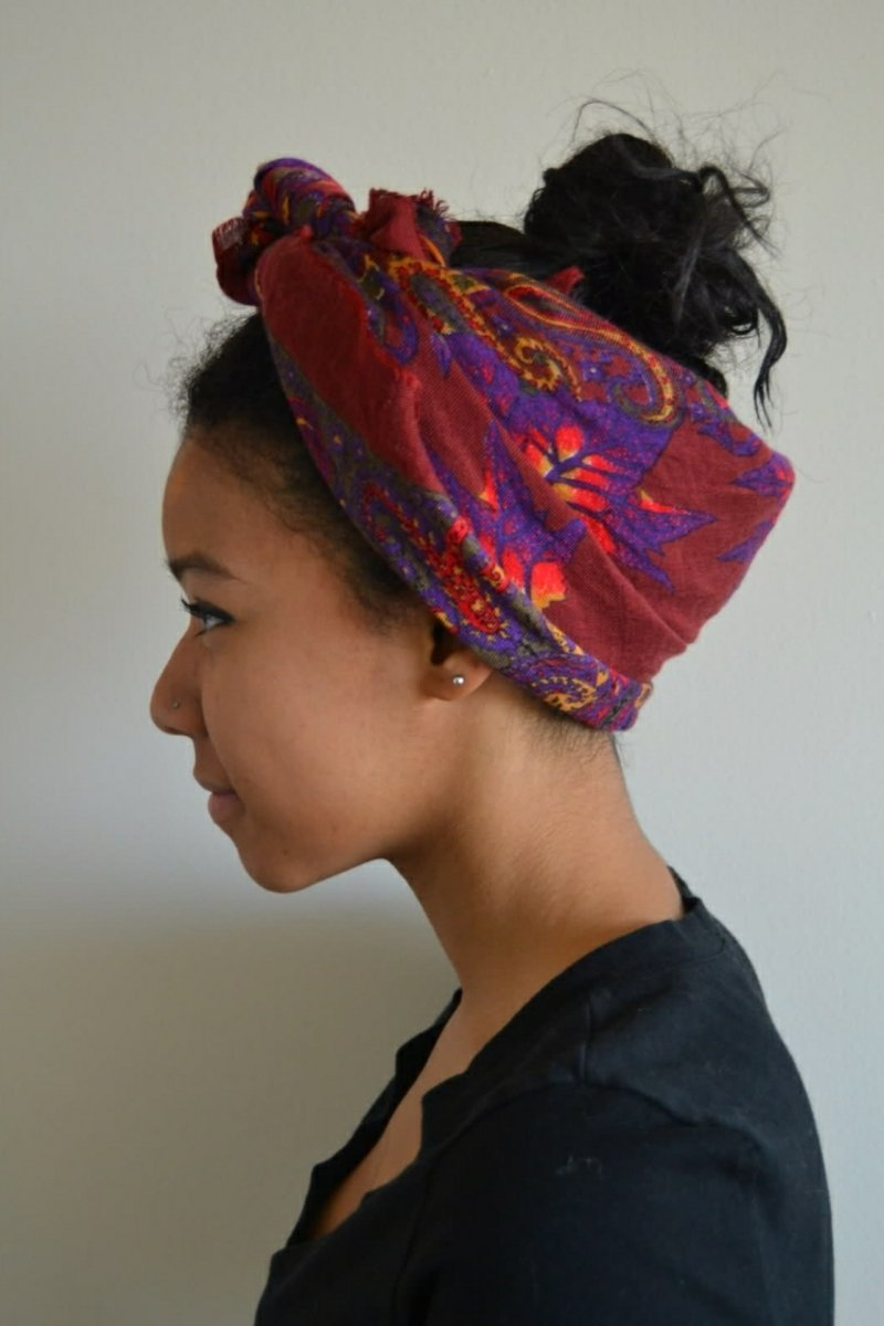 Schal tragen Kopftuch