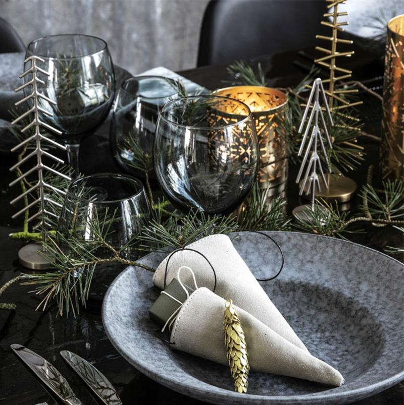 Weihnachten Trends 2019 Tisch Servietten falten