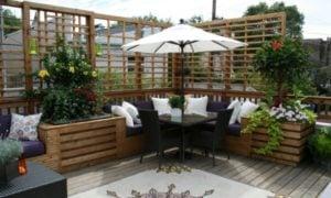 Sonnenschutz Balkon Spaliere Sonnenschirm
