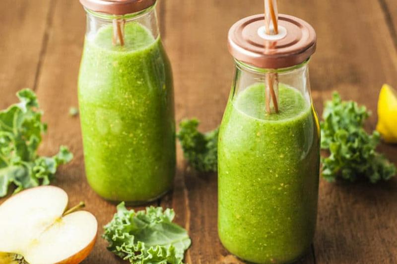 Detox Kur 7 Tage grüne Smoothies trinken
