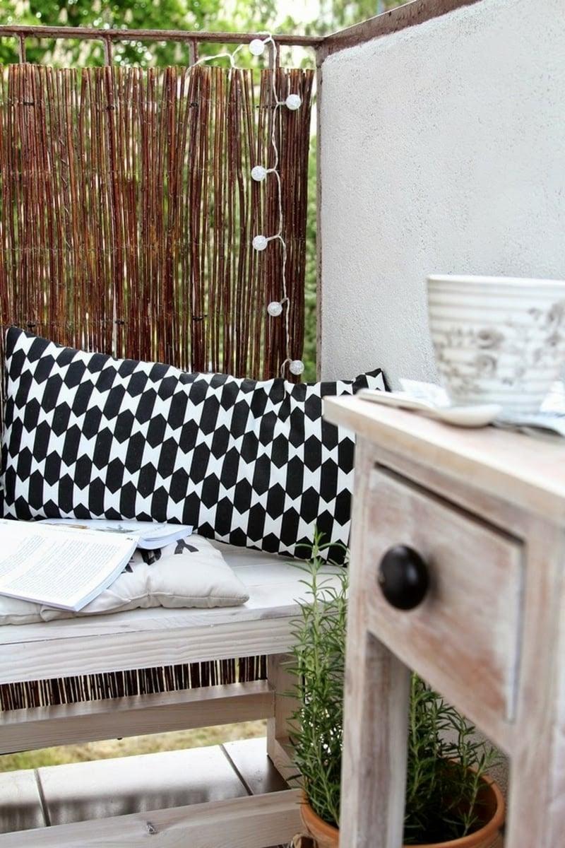 Sonnenschutz Balkon Bambusmatte