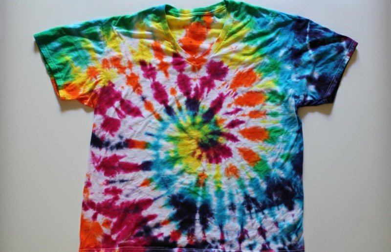 T-Shirt wunderschön dekorieren