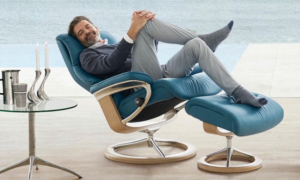 Nach dem Arbeitstag der Stressless Sessel wird Ihren Lieblingsort für Erholung bekommen