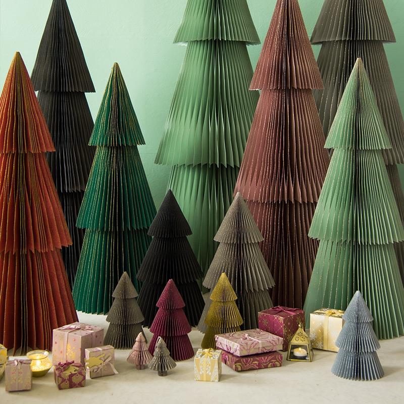 Weihnachtsdeko basteln aus Papier