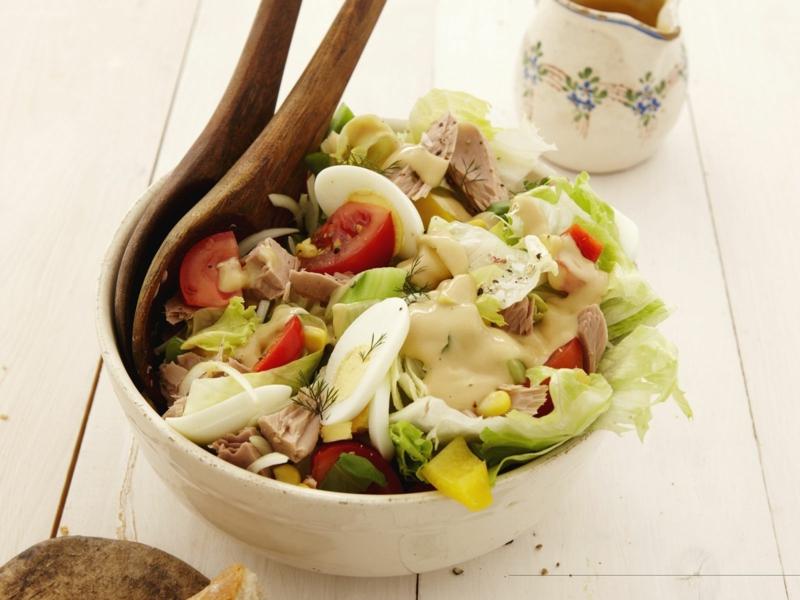 gesunde Rezepte für Salate