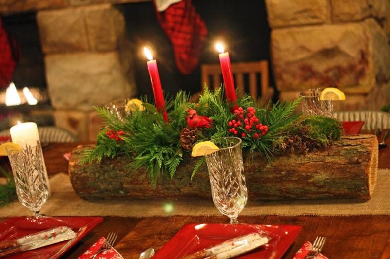 tolle Tischdeko machen Weihnachten