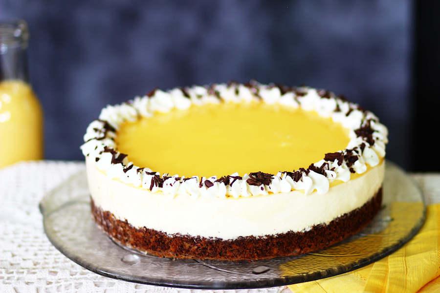Torte mit Eierlikör-Creme
