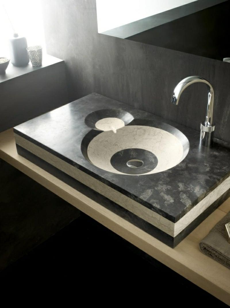 Waschbecken Bad Marmor Stein