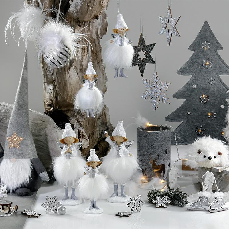 Weihnachten Trends 2019 Trendfarbe Weiß