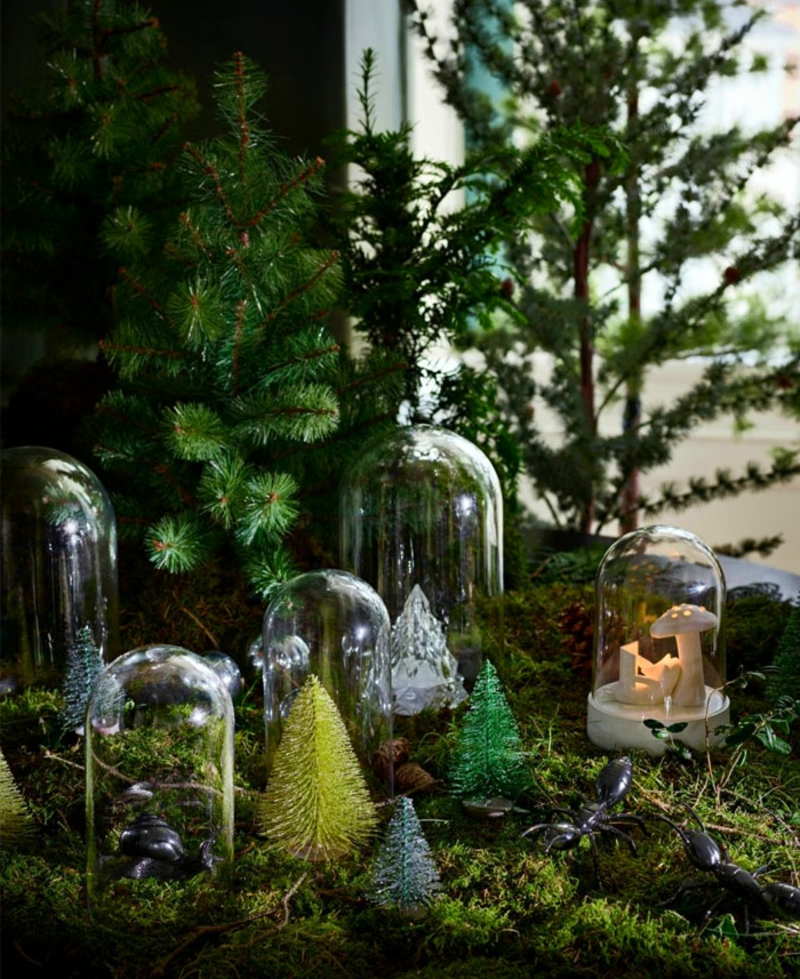 naturbelassene Deko Weihnachten