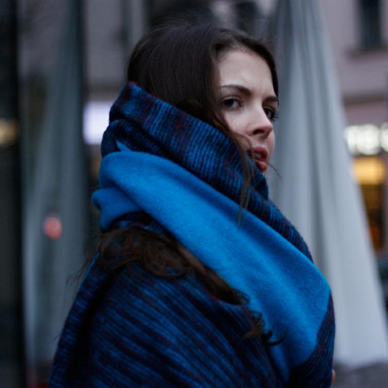 Schal stilvoll tragen