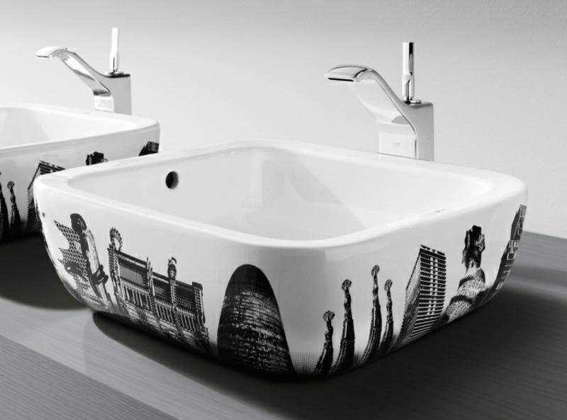 Designer Aufsatzwaschbecken Urban Motive