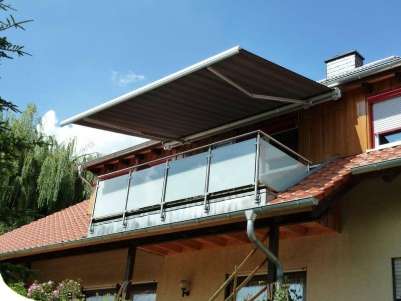 Balkonmarkise aus Aluminum permanent