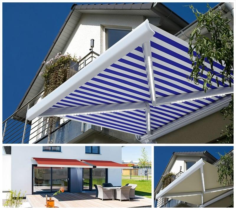 Balkonmarkisen modern