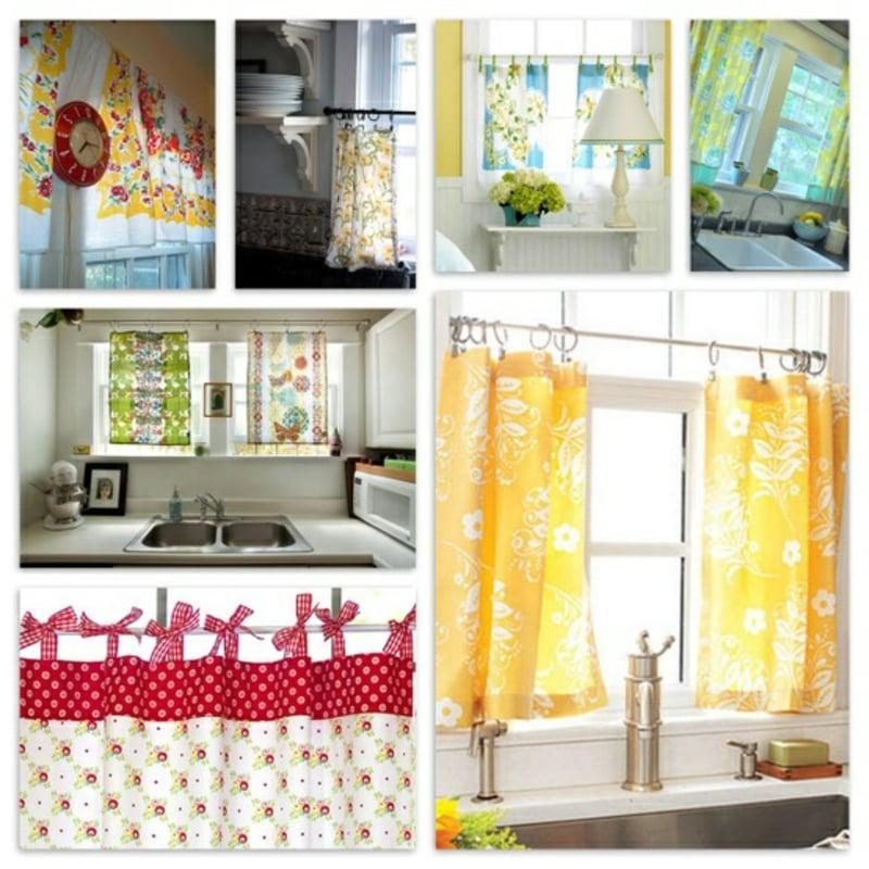 Küchengardinen tolle Designideen