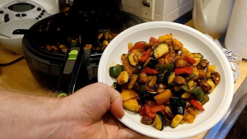 Gemüse anrösten leicht und lecker