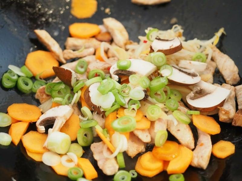 Gemüse zubereitenn im Airfryer