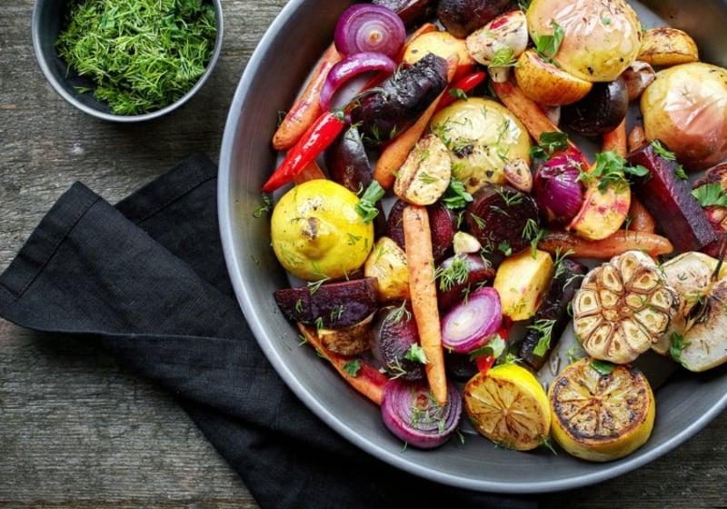 Heißluftfritteuse Rezepte Gemüse rösten