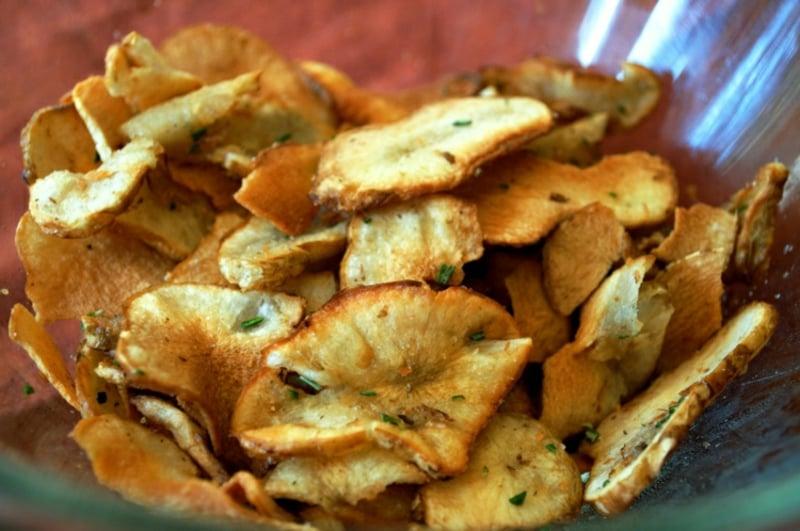 gebratene Kartoffeln mit Rosmarin Heißluftfritteuse