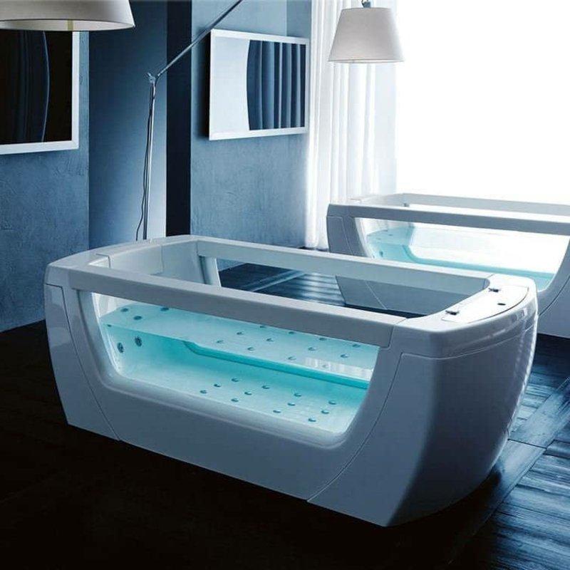 Whirlpool Badewanne klein für eine Person