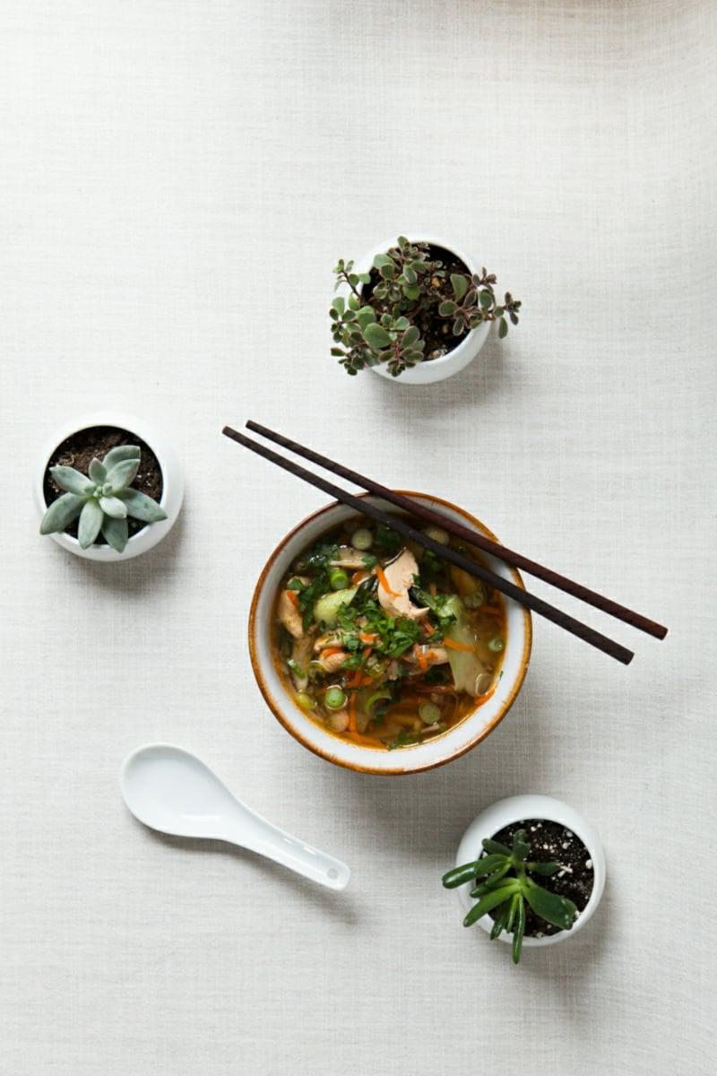 Suppe kochen mit Senfkohl Rezept
