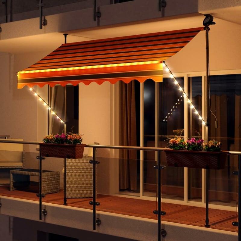 Markise Balkon als Blickfang