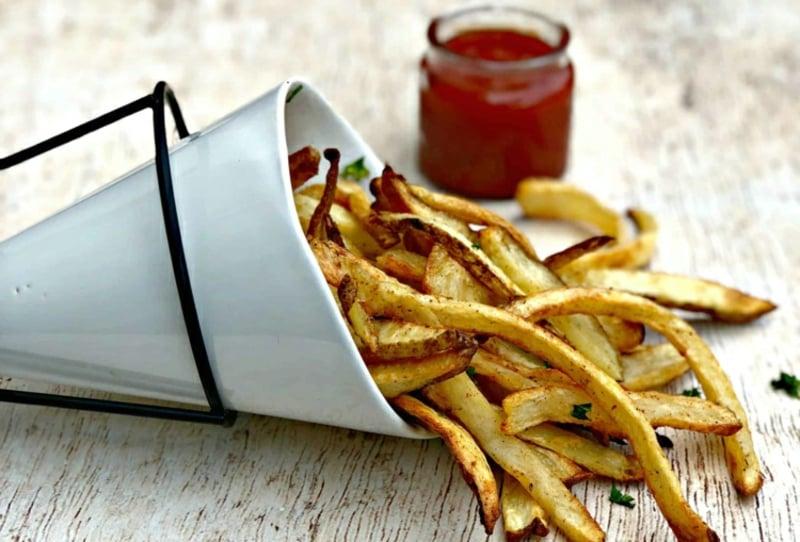 Pommes Frittes Heißluftfritteuse Rezepte