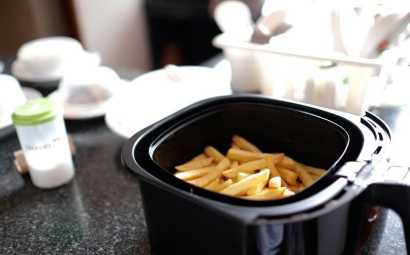 Pommes zubereiten ohne Fett